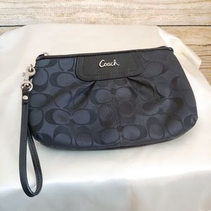 COACH | Ashley |Wristlet | Slate Blue